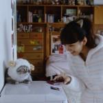 猫耳に萌え!桐谷美鈴さんと相棒レオンくんに注目